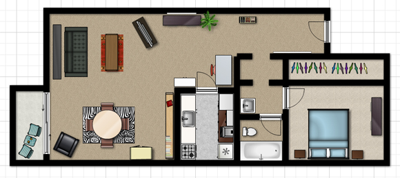 My Space Plan