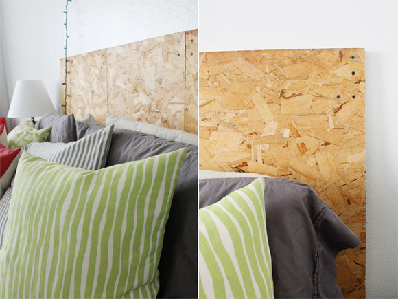 DIY Plywood Headboard