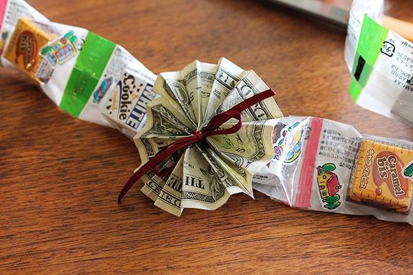 Money Fan from Front