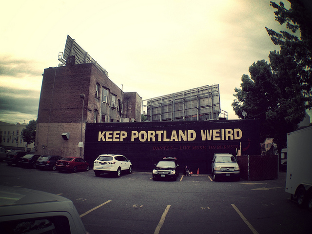 Keep Portland Weird, photo by Barry Caruth on flickr