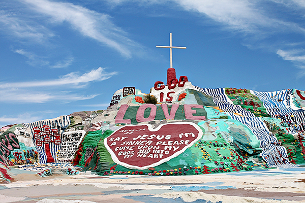 Salvation Mountain, Outside Niland, CA
