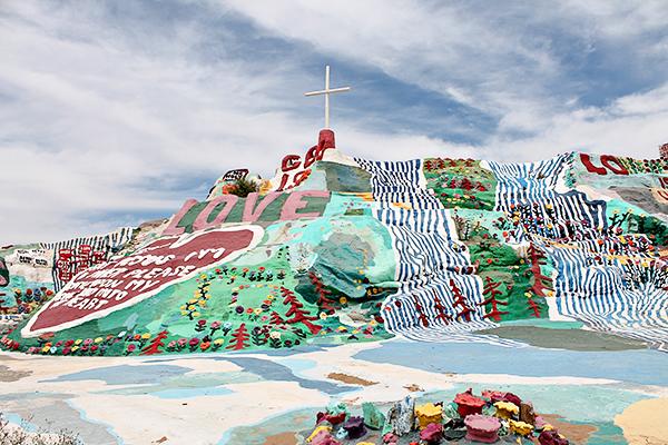 Salvation Mountain, Outside Niland, CA