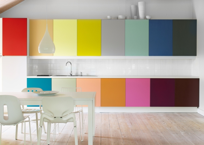 Color Cabinets - Photo by Magnus Anesund