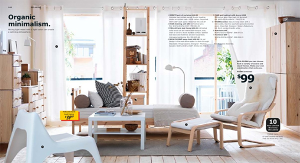 Pine and White Inspiration, IKEA