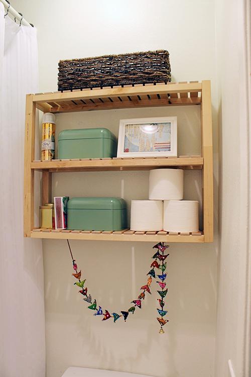 ikea molger in the bathroom my friend staci. Black Bedroom Furniture Sets. Home Design Ideas