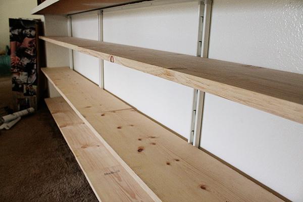 pine shelf how to 4
