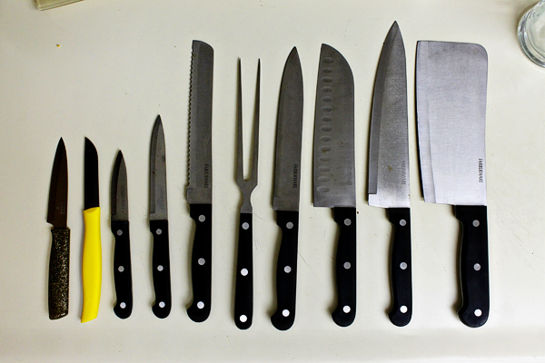 My Knives, Before