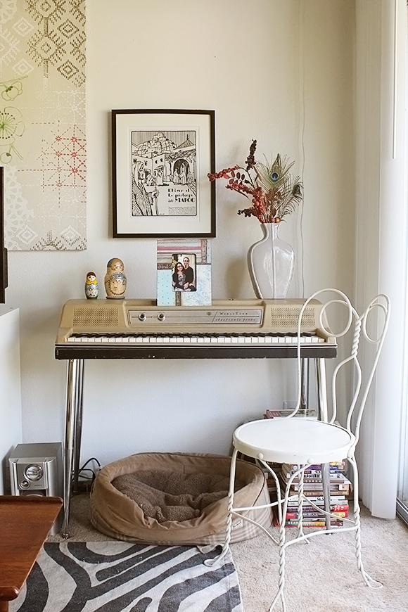 Wurlitzer Piano as Decor