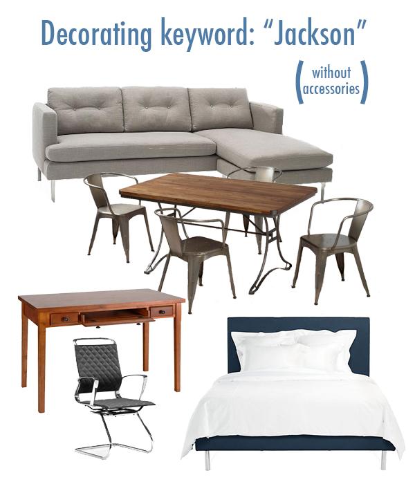 Jackson, no accessories