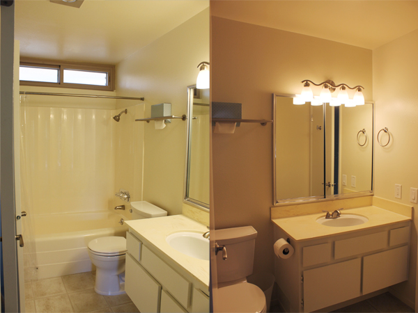 Bathroom, Two Angles