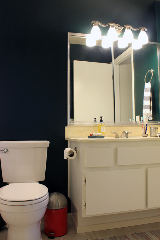 Bathroom, Painted