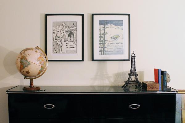 art over dresser