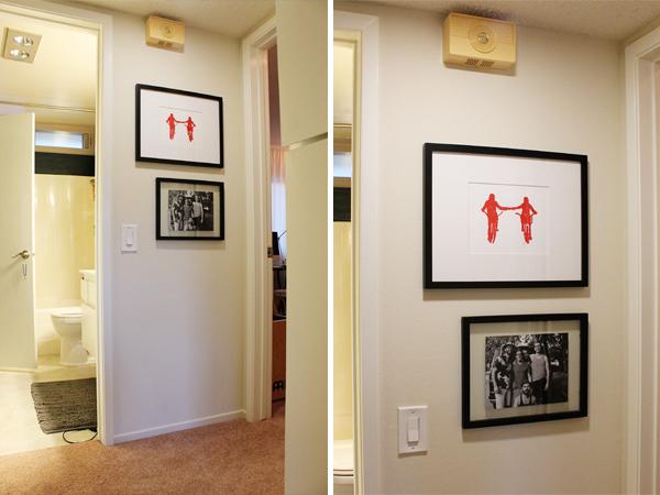 Art in Hallway