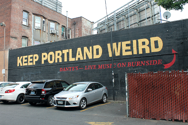 keep portland weird small