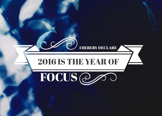 2016 Year of Focus