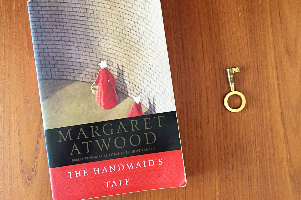 handmaids tale basic response A summary of themes in margaret atwood's the handmaid's tale because gilead was formed in response to the crisis caused by dramatically handmaids, or.